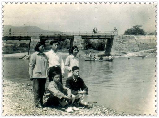 武康河桥头