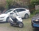 摩托车占车位